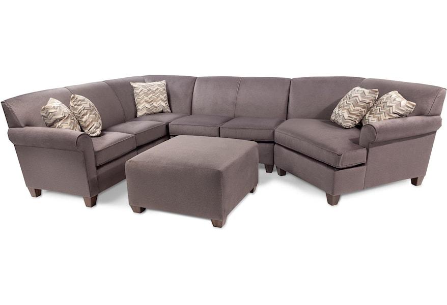 Flexsteel Daria 3 Piece Sectional Sofa
