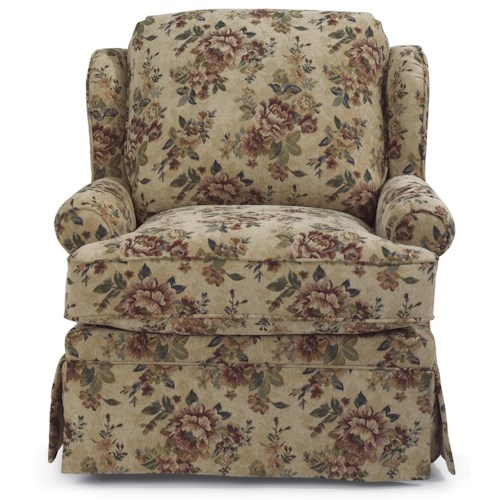 Flexsteel Danville Traditional Upholstered Chair