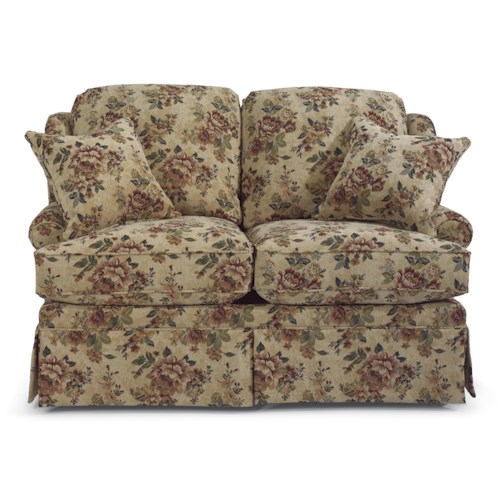 Flexsteel Danville Traditional Love Seat