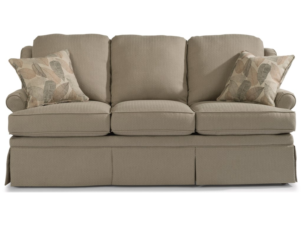 Flexsteel Danville 70 Casual Sofa Godby Home Furnishings Sofas