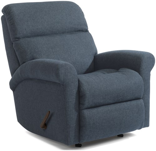 Flexsteel Davis 2902 Casual Swivel Gliding Recliner