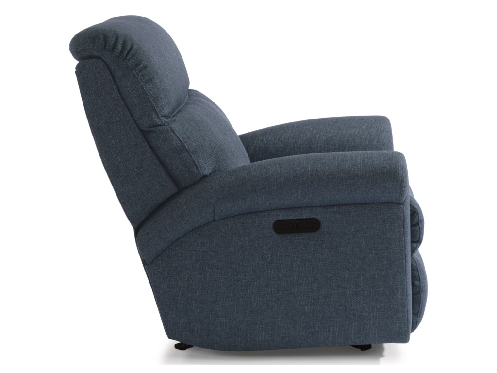 Flexsteel DavisPower Rocking Recliner with Power Headrest