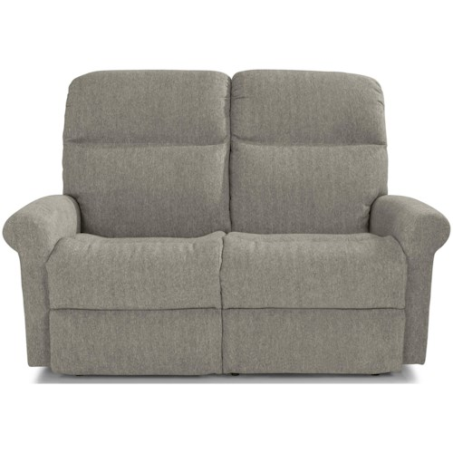 Flexsteel Davis Casual Reclining Loveseat