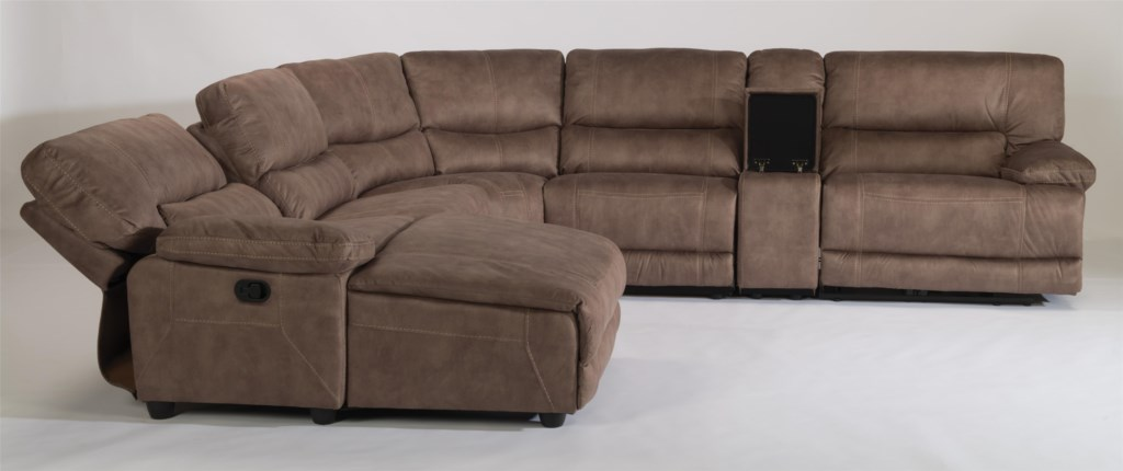 Flexsteel Latitudes Delia Six Piece Power Reclining Sectional