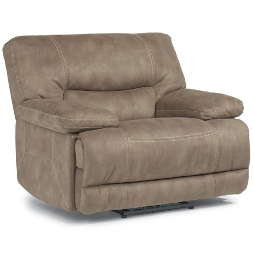 Flexsteel Latitudes - Delia Power Recliner with Large Pillow Arms