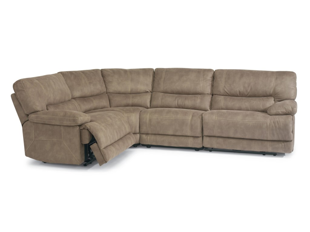 awesome of design hermosa sofa picture latitudes flexsteel sectional reclining set free ideas ahfa flex best steel