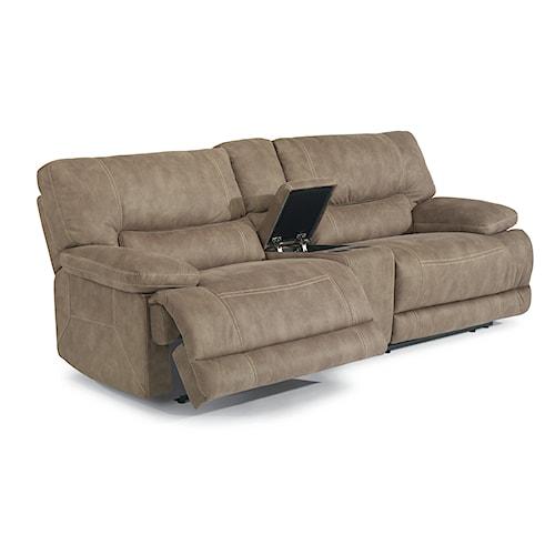 Flexsteel Furniture Uk: Delia Power Reclining Sectional Sofa