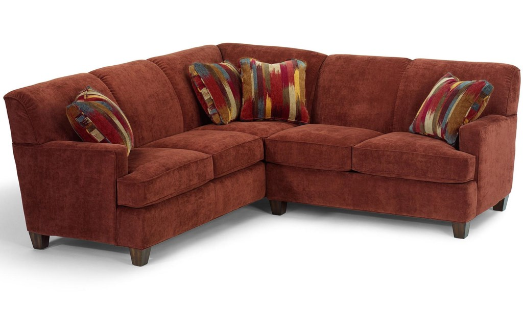 Flexsteel Dempsey Contemporary 2 Piece Sectional Sofa with RAF
