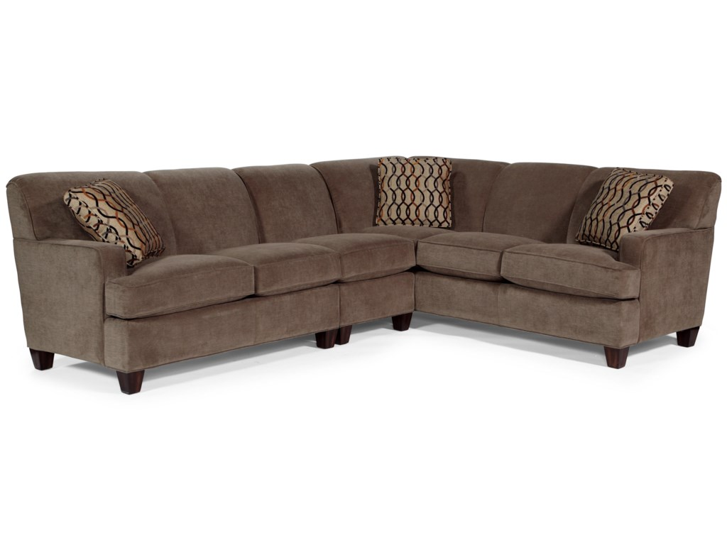 Flexsteel Dempsey3 pc. Sectional Sofa