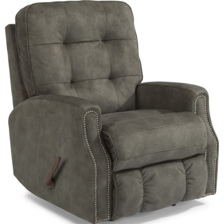 Rocker Recliner w/ Nailheads