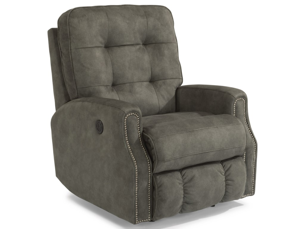 Flexsteel DevonPower Recliner w/ Nailheads