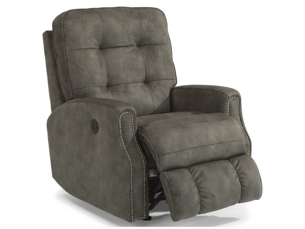 Flexsteel DevonPower Rocker Recliner w/ Power Headrest