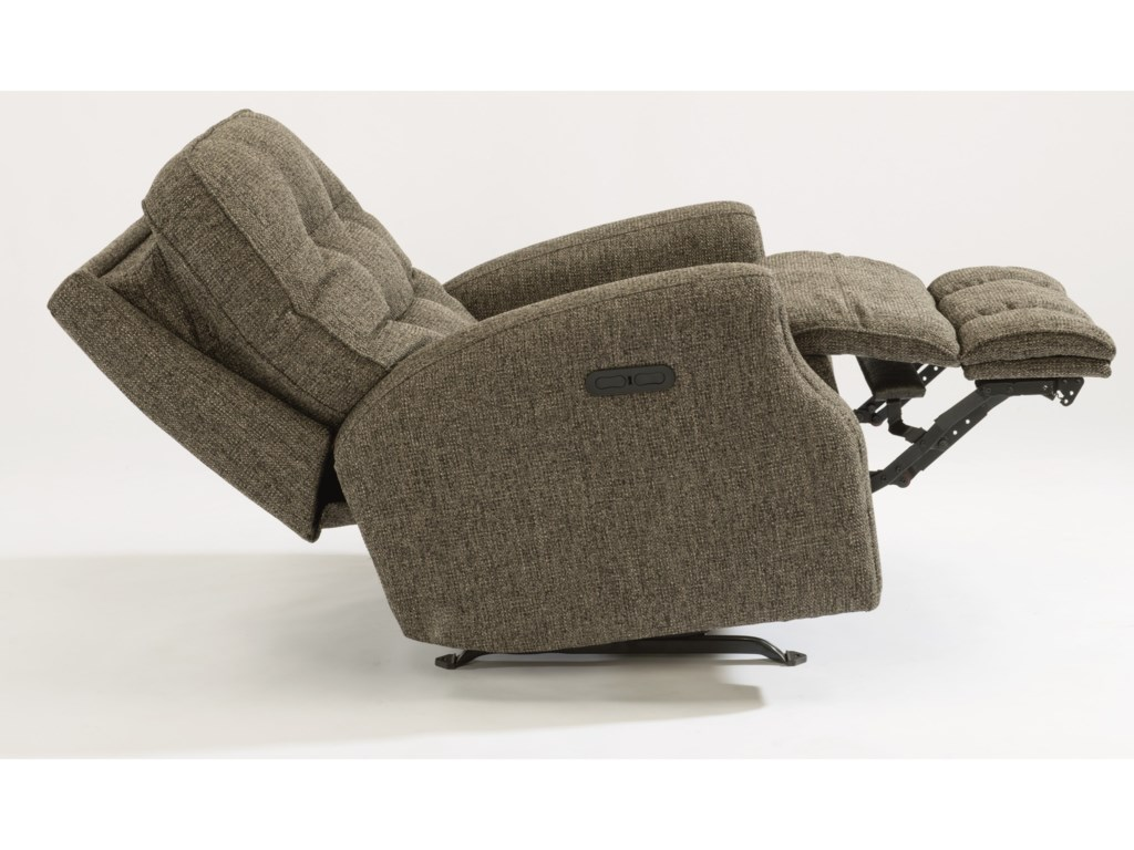 Flexsteel DevonPower Rocker Recliner w/ Pwr Headrest