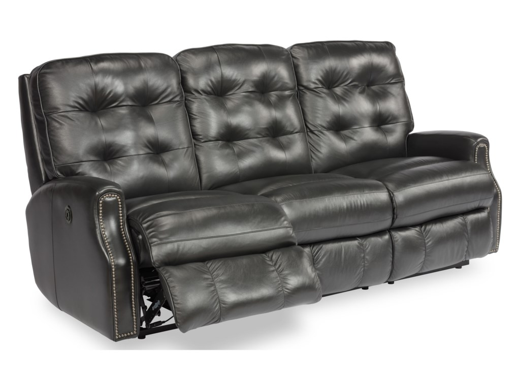 Flexsteel DevonPower Reclining Sofa