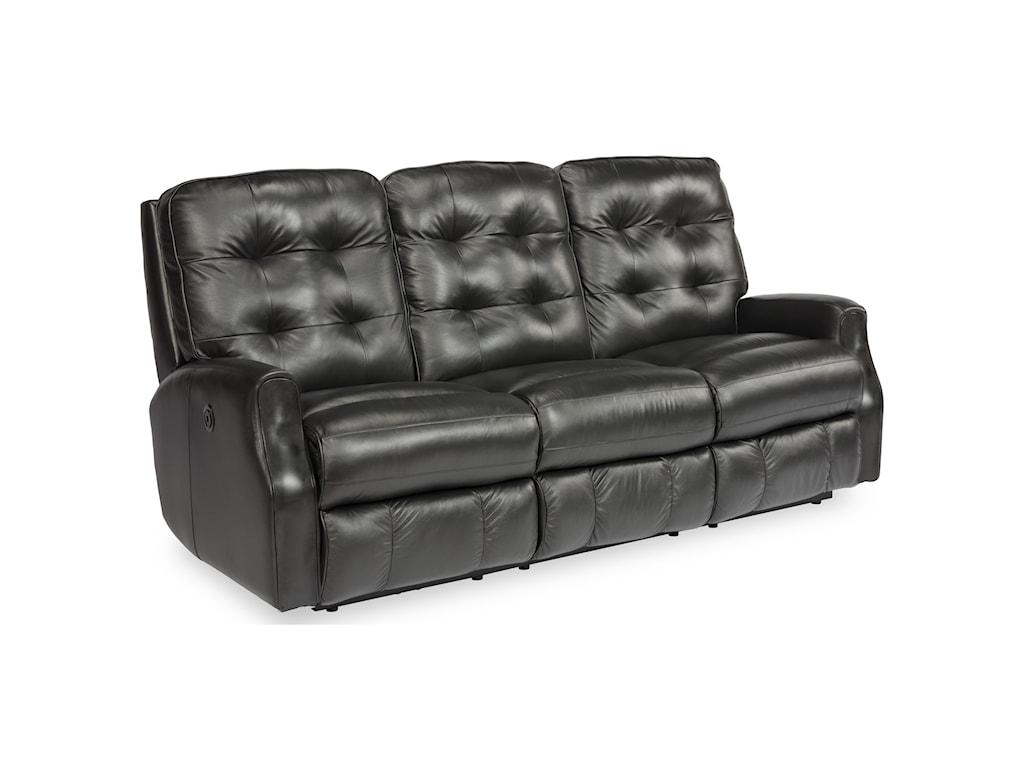 Flexsteel DevonPower Reclining Sofa