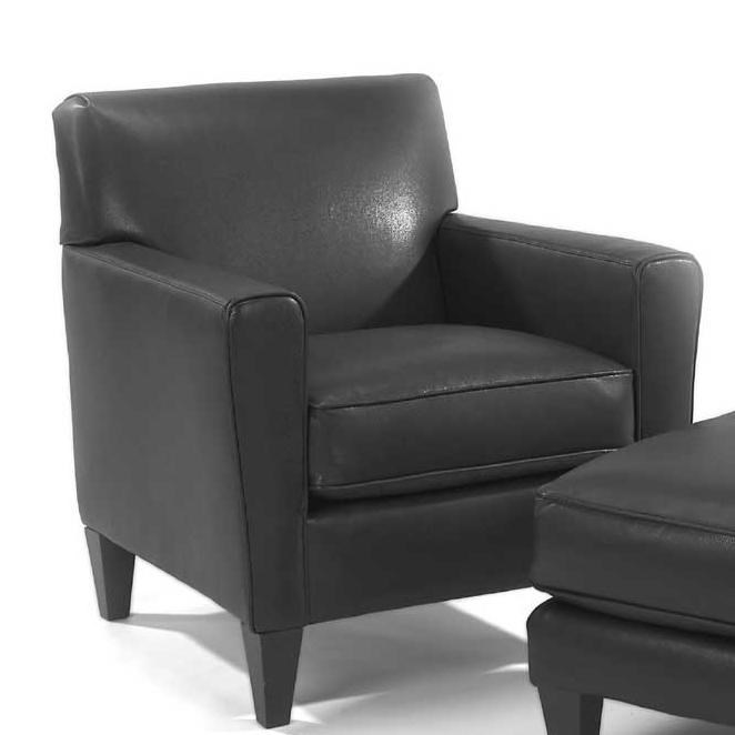 flexsteel digby upholstered chair - dunk & bright furniture