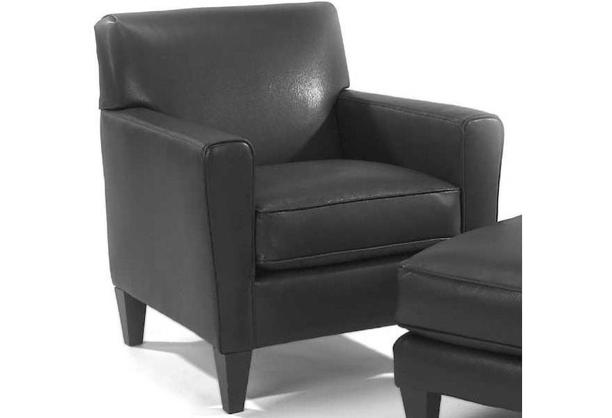 Enjoyable Flexsteel Digby Upholstered Chair Stegers Furniture Ibusinesslaw Wood Chair Design Ideas Ibusinesslaworg