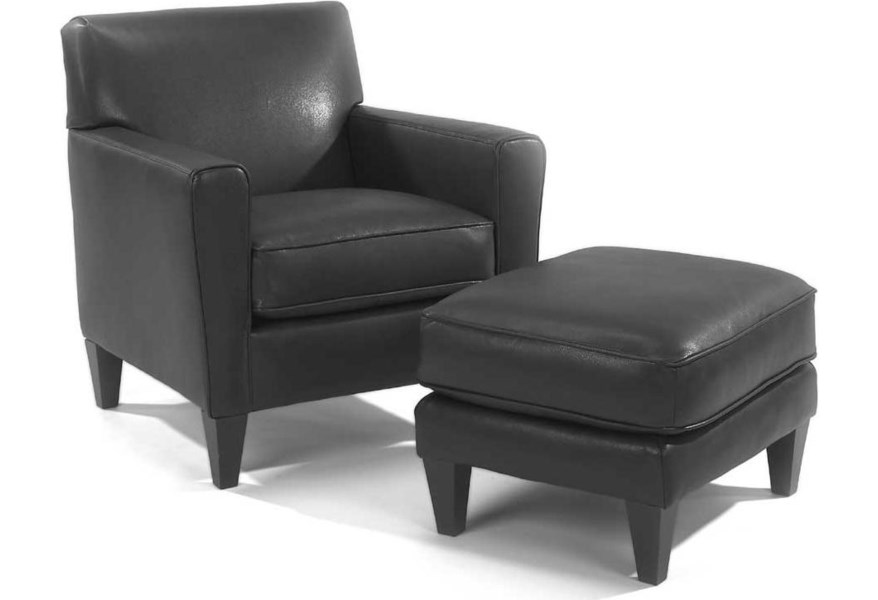 Awesome Flexsteel Digby Upholstered Chair Stegers Furniture Ibusinesslaw Wood Chair Design Ideas Ibusinesslaworg