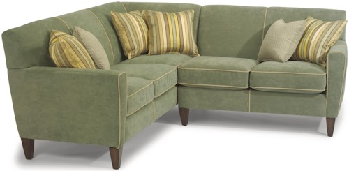 Flexsteel Digby Contemporary L-Shape Sectional Sofa