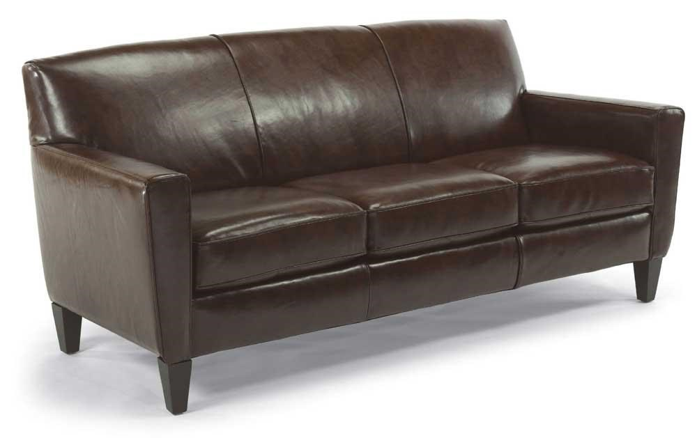 Flexsteel Digby Leather Sofa - Belfort Furniture - Sofas