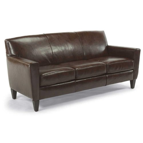 Flexsteel Digby Upholstered Sofa Wayside Furniture Sofas - Flexsteel sofa leather