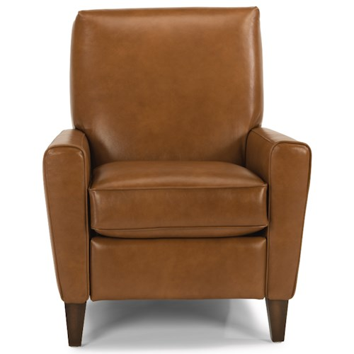 Flexsteel Digby Upholstered High Leg Recliner Chair