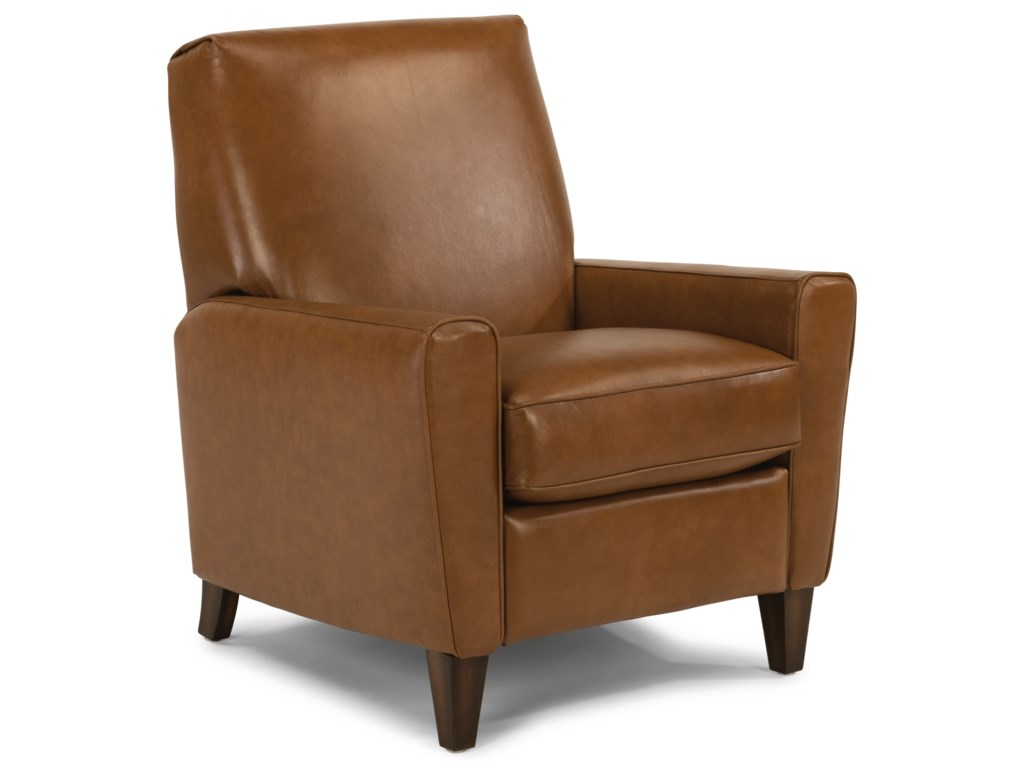 Flexsteel BrunoLucas Leather Hi-Leg Recliner