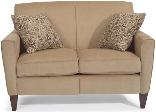 Flexsteel Digby Contemporary Love Seat