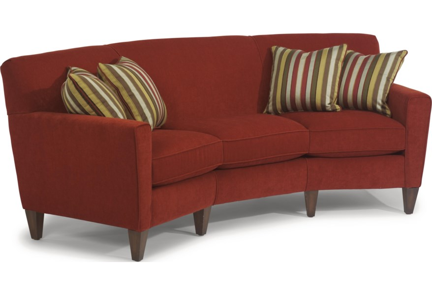 Digby Contemporary Conversation Sofa By Flexsteel At Dunk Bright Furniture