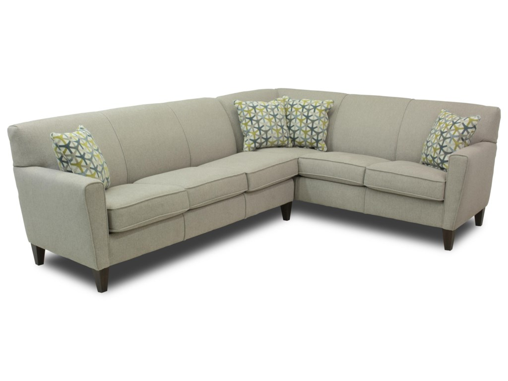 Flexsteel Digby5 Seat Sectional
