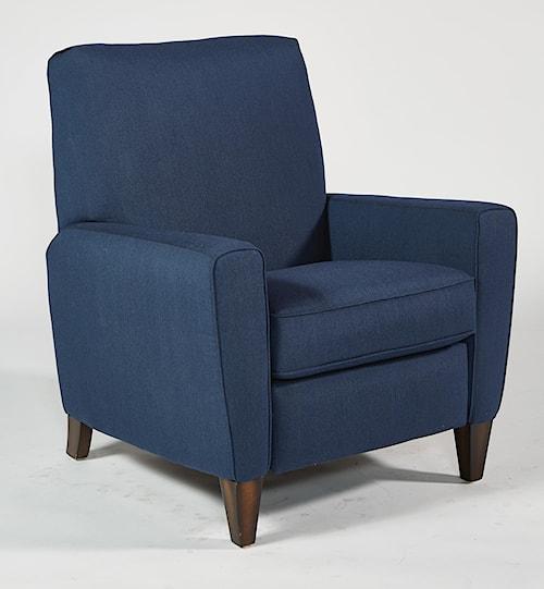Flexsteel Digby Upholstered High Leg Recliner Chair