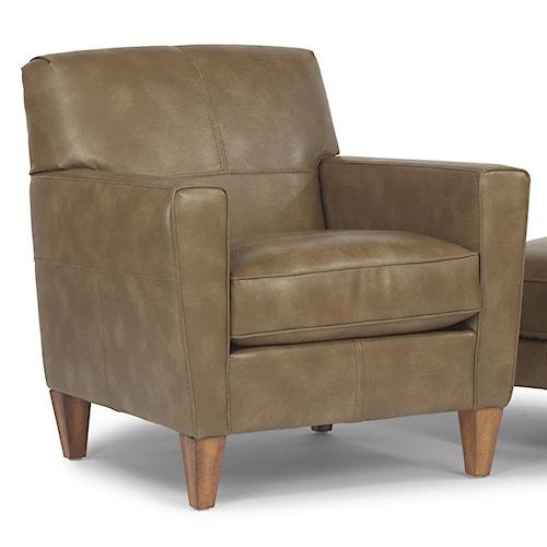 Flexsteel digby upholstered chair pilgrim furniture city for Furniture 0 percent financing