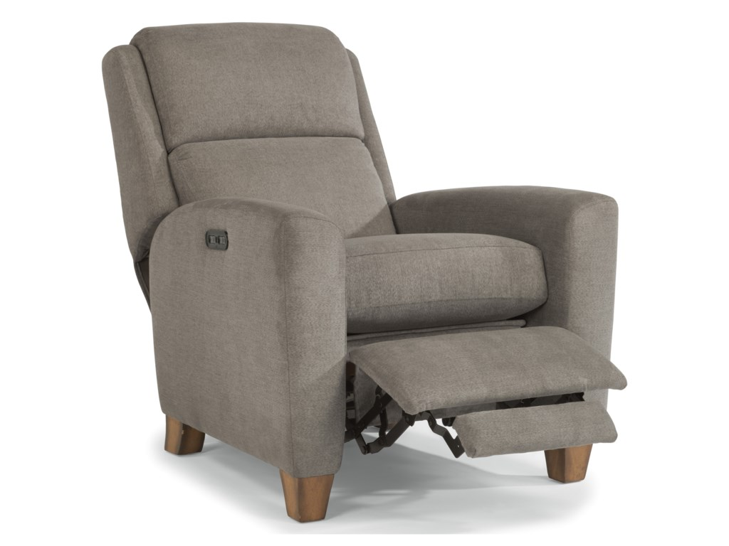 Flexsteel DionPower High-Leg Recliner with Power Headrests