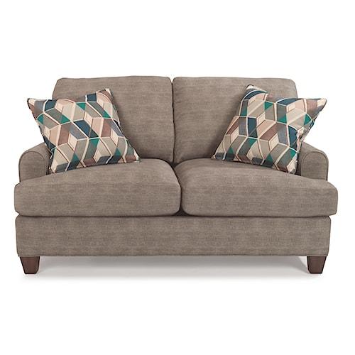 Flexsteel Donatello 5685 Loveseat with Reversible Cushions
