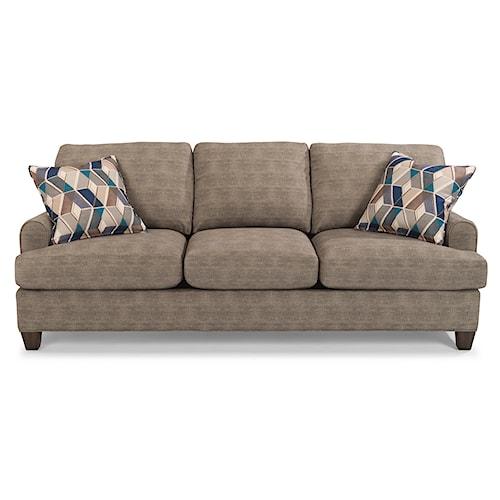 Flexsteel Donatello 5685 Three Seat Sofa with Reversible Cushions