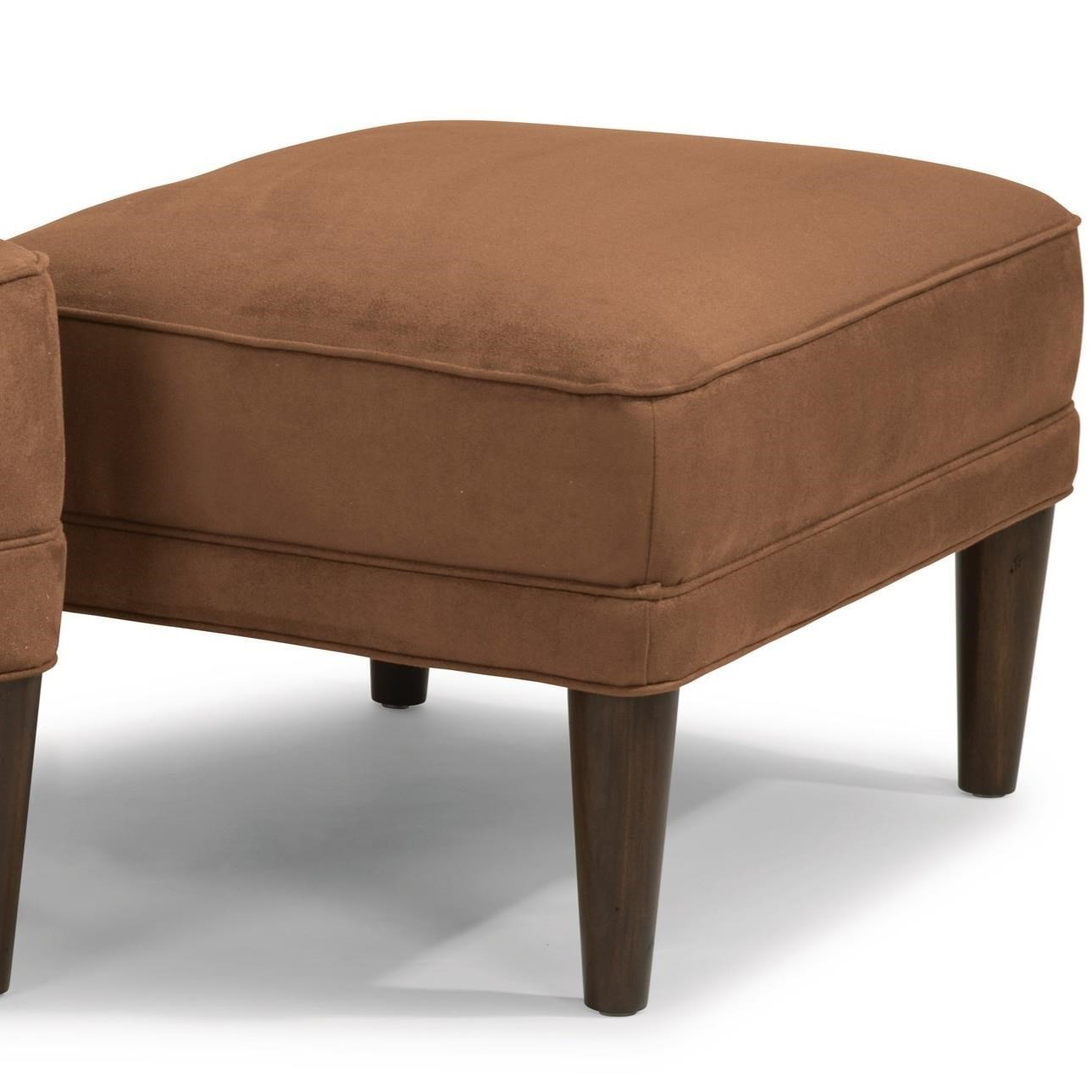 Mid Century Modern Ottoman By Flexsteel. Home Living Room Furniture Ottomans  Flexsteel Etta Ottoman. Flexsteel EttaOttoman; Flexsteel EttaOttoman