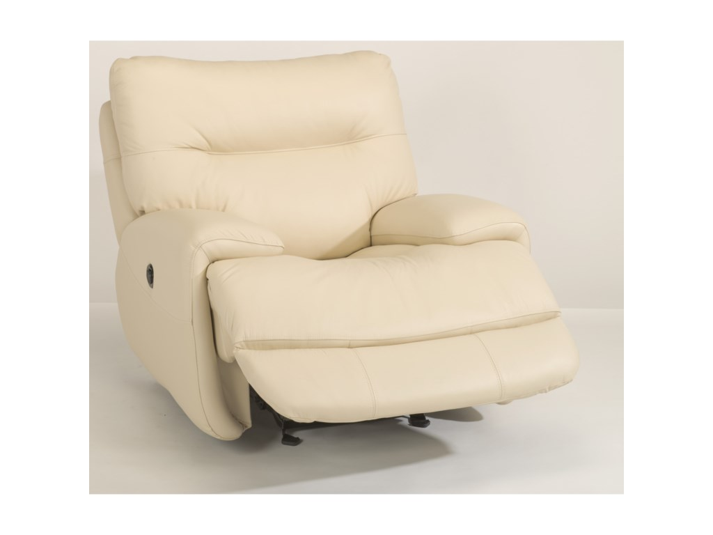 Flexsteel Latitudes - EvianPower Glider Recliner with Power Headrest