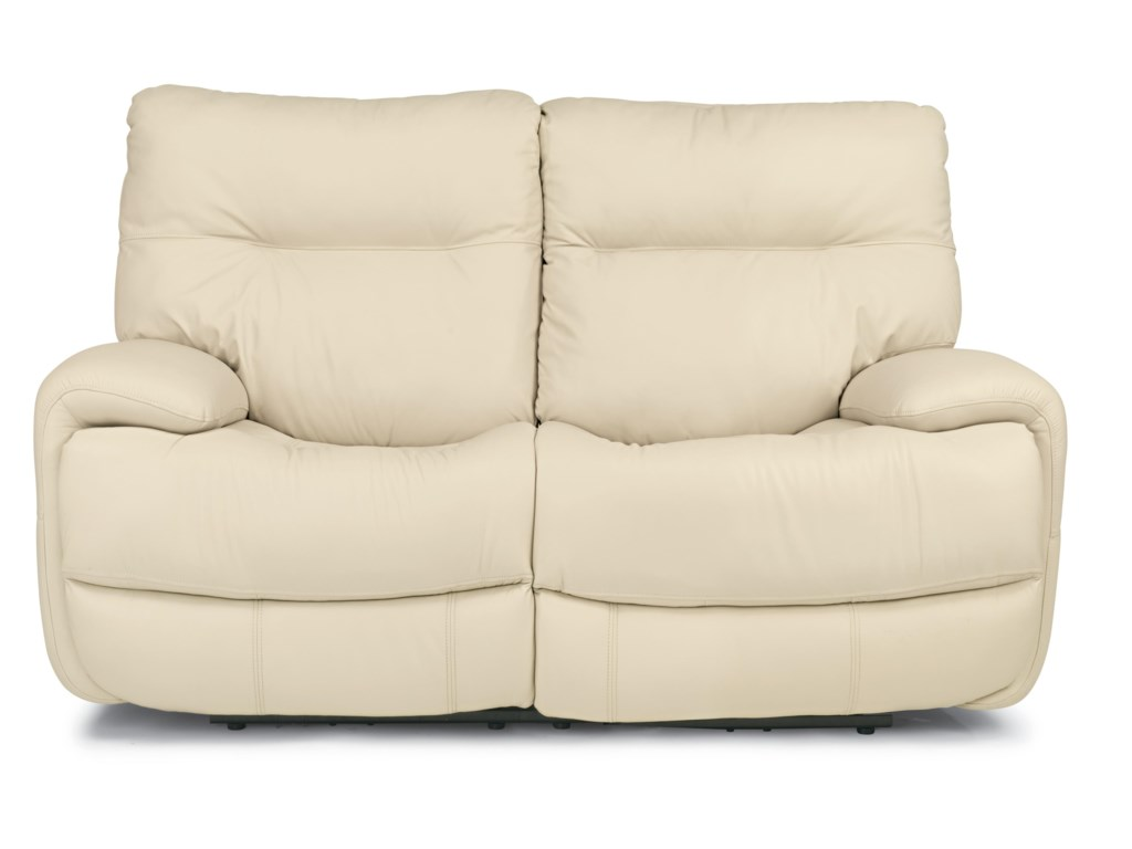 Flexsteel Latitudes - EvianPower Reclining Love Seat
