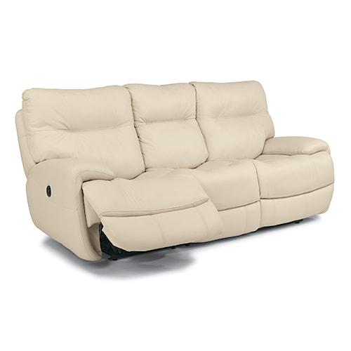 Flexsteel Latitudes Evian Power Reclining Sofa With Fold