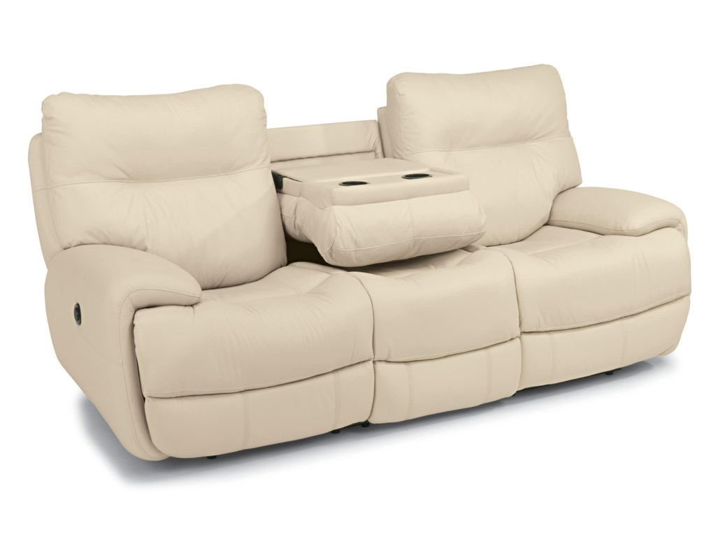 Flexsteel SilhouettePower Reclining Sofa