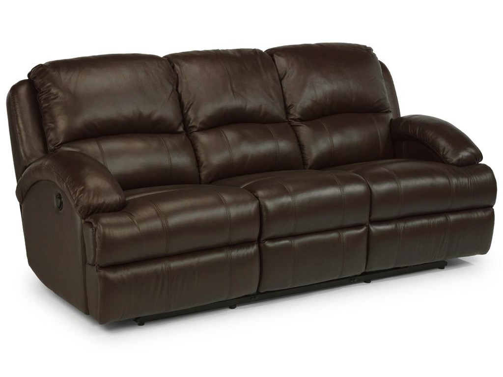 Lane Leather Reclining Sofa Lane Jasmine Traditional