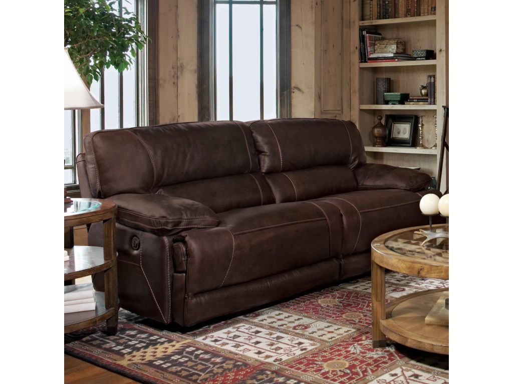 Furniture stores in aberdeen sd - Flexsteel Fleet Street Double Power Reclining Sofa Conlin S Furniture Reclining Sofas