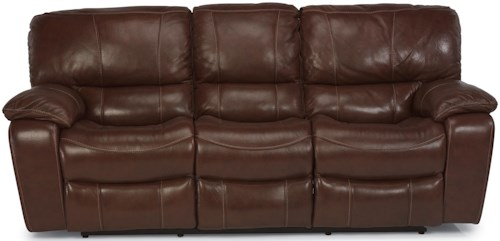 Flexsteel Latitudes - Grandview Power Reclining Sofa with Plush Pillowed Arms