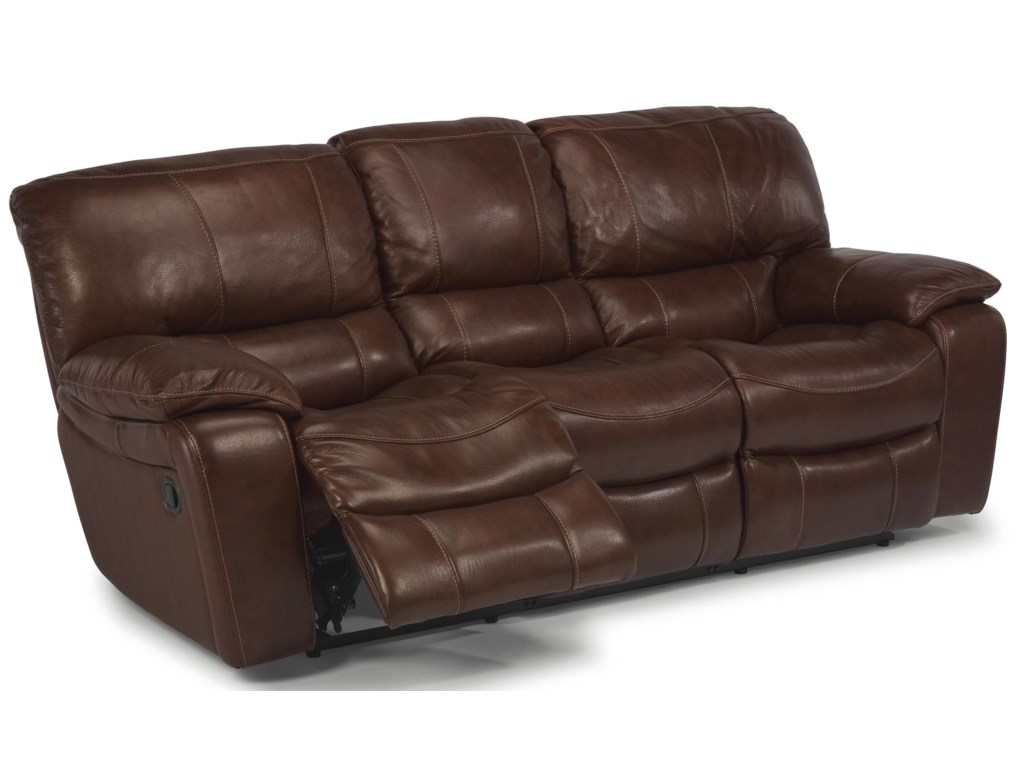 Double Recliner and Leg Lift