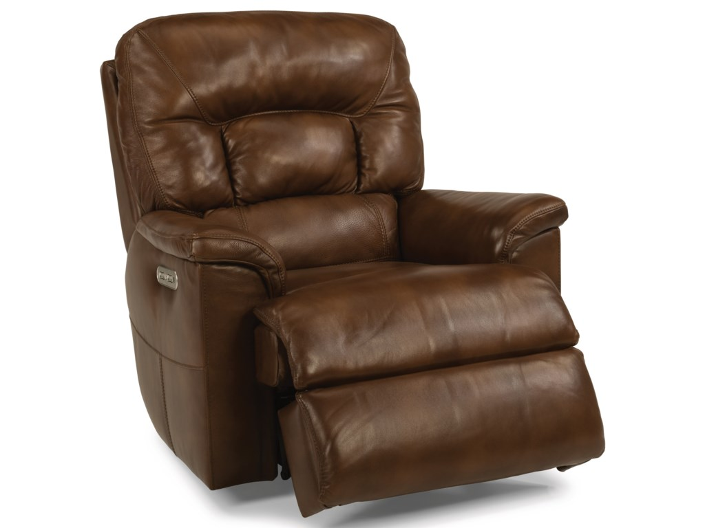 Flexsteel Latitudes - Great EscapePower Gliding Recliner with Power Headrest