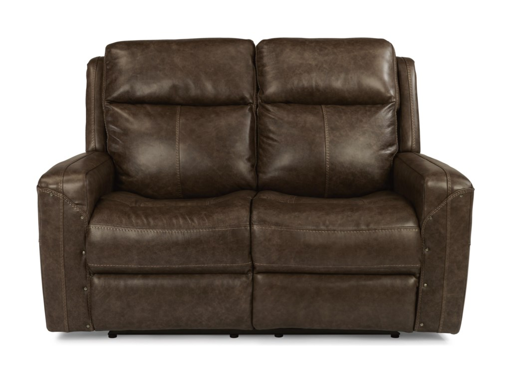 Flexsteel Latitudes - GunnerPower Reclining Love Seat