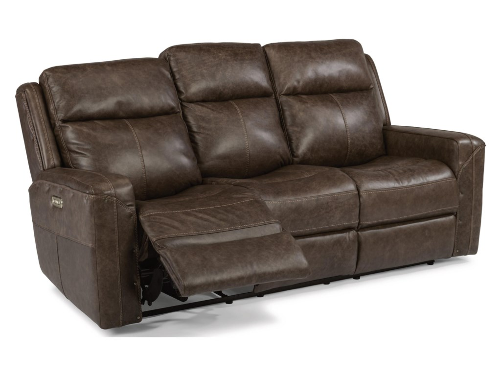 Flexsteel Latitudes - GunnerPower Reclining Sofa