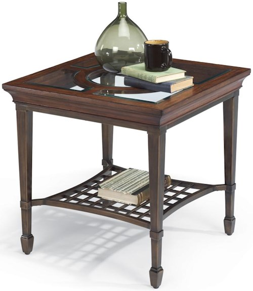 Flexsteel Hathaway Square End Table