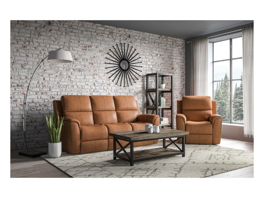 Flexsteel 1041Power Reclining Living Room Group