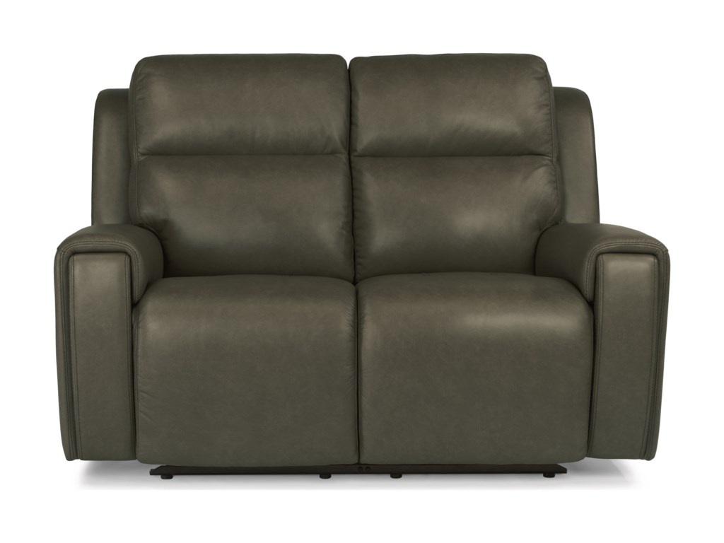 Flexsteel Latitudes - JasperPower Reclining Love Seat